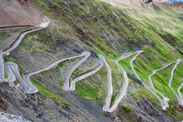 3. Stelvio Pass, Italy