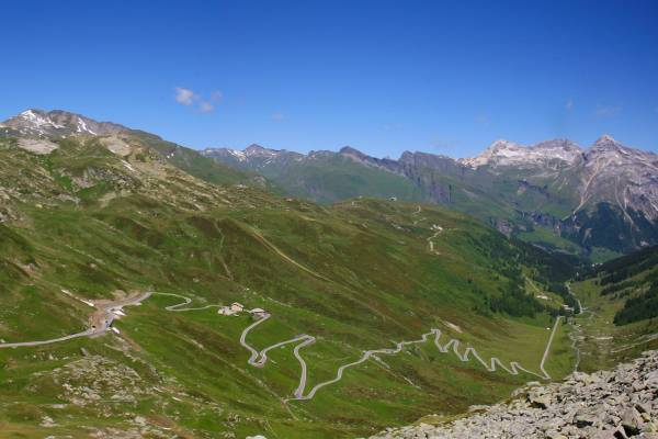 16. Splugen Pass, Switzerland / Italy border