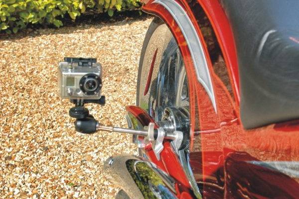 11. Mounting a camera to your motorcycle